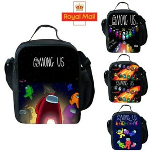 Kids Among Us Insulated Lunch Bag School Snack Picnic Box Travel Hand Bag Gifts