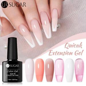 7.5ml UR SUGAR UV LED Quick Extension Gel Quick Builder Nail Polish Nail Art
