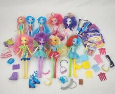 Huge Lot Of 9 Hasbro My Little Pony Equestria Girls Dolls And Accessories!