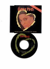 ☆☆ DIANA ROSS HEART DON'T CHANGE MY MIND CD  SINGLE EX/EX CONDITION ☆☆