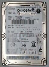 80 Gb IDE Fujitsu internamente 4200rpm 6,35 cm 2,5 pulgadas mht2080at