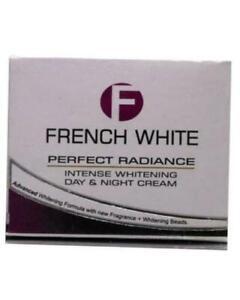French White Perfect Radiance Intense Whitening Day & Night Cream 100% Original