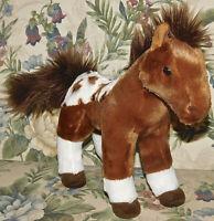 "Aurora World Plush Western Plush Horse Dakota Stuffed Animal Toy Stands 10"" Soft"