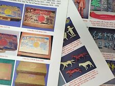 Marx FORT APACHE Rin Tin Tin Sssssa playset guide 3627-28-57-58-30-32-34-36-86
