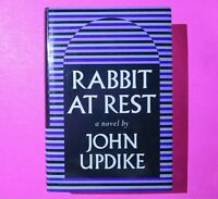 Rabbit At Rest by John Updike First Edition 1st Print 1990 Hardcover DJ Fiction