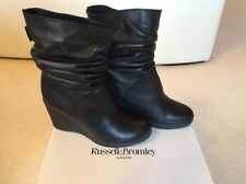 New Russell & Bromley Wedge Boots Size 39