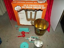 Old Fashioned Ice Cream Maker kids toy
