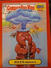Garbage Pail Kids 2015 Series 2 30th 6a Jules Drools RED Push Button NrMt-Mint