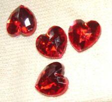 Acrylic Heart Jewellery Making Beads