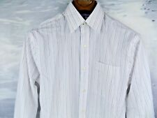 NWT Tommy Hilfiger Regular Fit Dress Shirt White Multi Size 14.5-32/33