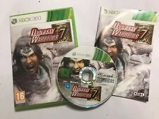 XBOX 360 GAME DYNASTY WARRIORS 7 +BOX & INSTRUCTIONS / COMPLETE PAL