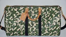 Louis Vuitton Takashi Murakami Keepall 55 Monogramouflage 08 Camo Duffel