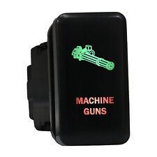 Push switch 8B89GR 12V Toyota MACHINE GUNS LED green red Tundra Tacoma 4Runner