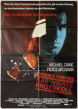 Vierte Protokololl Fourth Protocol Pierce Brosnan Michael Caine Orig.-Filmplakat