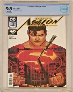 Action Comics 1006 CBCS 9.8 Sook Variant 1st Leone Equals Top CGC Grade Superman