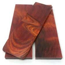 """Dymalux """"Cocobolo"""" Laminated Wood Knife Handle Scales Slabs- 3/8"""" x 1.6"""" x 5.25"""""""