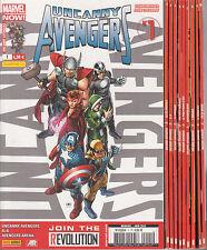 UNCANNY AVENGERS N° 1 à 10 Marvel France 1ERE SERIE Panini comics COMPLET