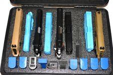 New Armourcase Heavy Duty Waterproof includes precut 9 Pistol Gun case foam
