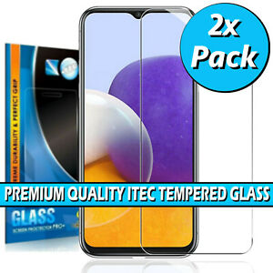 For Samsung Galaxy A22 / A22 5G Gorilla Tempered Glass Screen Protector Cover