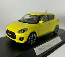 Suzuki swift 2018 1:43 diecast ovp yellow scale model modellauto gelb