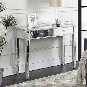 Make Up Table Mirrored Desk - 2 Drawers - Premium & Modern