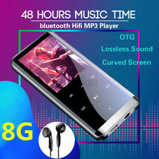 8GB bluetooth HiFi OLED Touch Mirror Screen Music MP3 MP4 Player Voice
