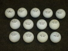 Lot of (13) Used Golf Balls / Top-Flite Xl2000, Extra Long & Titanium