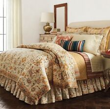 "Chaps Home ""Linden Creek"" Comforter Set Size: Queen New Ship Free 3 Piece"