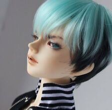 Bjd Doll Wig 1/3 8-9 Dal Pullip AOD AE SD DOD LUTS Dollfie blue short Toy Hair