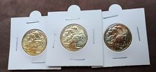 2019 RAM $1 one dollar Coin's with 35 privy Mintmark full set of 3 Coins A/U/S