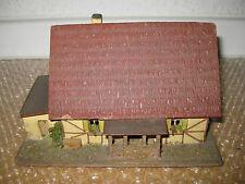 Spur HO Holz-Fachwerkhaus von R+S  Nr.47 50iger Jahre /M469