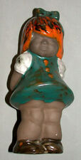 1930's German Pottery 9 Inch Figure Of A Girl