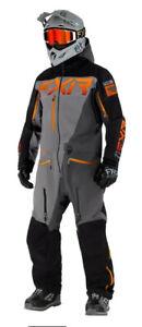 FXR M Ranger Instinct Lite Non-Insulated Monosuit Grey/Char/Black/Orange
