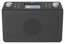 Bush DAB & FM Kitchen Digital Radio - 20 Presets - LCD Display - Alarm - Black