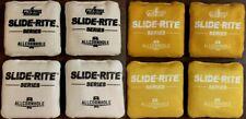 Brand New Allcornhole Slide-Rite Cornhole Bags Full Set 8 Yellow & White ACL PRO