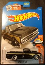 2016 Hot Wheels Super CUSTOM 67 Chevy C10 with Real Riders