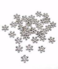 30 Daisy Spacer Silberfaben, 7mm, Zwischenperle, Kranz, Krone für Perlenengel