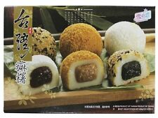 ANGEBOT: 450g MOCHI versch. Sorten - 15 Reiskuchen Sesam Füllung Erdnuss Mochis