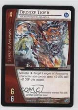 2005 VS System DC Batman Starter Deck Base #DBM-013 Bronze Tiger Gaming Card q0l