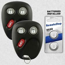 2 For 03 2004 2005 2006 2007 Chevrolet Silverado 1500 2500 3500 Remote Key Fob
