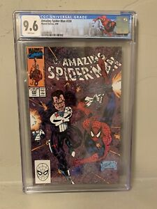 The Amazing Spider-Man #330 CGC 9.6 Limited NY City Label Punisher Erik Larsen