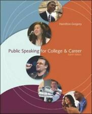 Public Speaking for College & Career 8th Ed. New