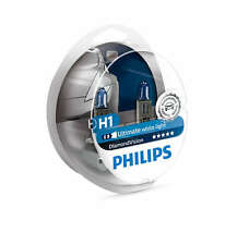 Philips H1 Diamond Vision Headlight Bulbs up to 5000K 12V55W 12258DVS2 2 Pack