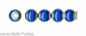 Lot 100 MOOD BEADS ~ Mirage 6mm Round  ~ Liquid Crystal ~ COLORS CHANGE !