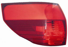 04-05 Toyota Sienna Outer Tail Light Rear Lamp - LEFT