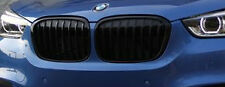 BMW 2016+ F48 F49 X1 OEM Genuine M Performance Gloss Black Front Grille Pair NEW