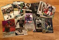 Hot Lot (5) NFL Serial Numbered Rookie Cards All Rookies Serial Numbered #ed SP