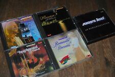 LOT 5 X CD *JAMES LAST* (MOONRIVER-IN HOLLAND-INSTRUMENTAL FOREVER)