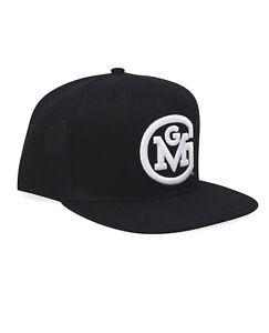 GMG 3D Script Logo Snap-Back Cap Gas Monkey (Black) - One Size