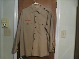 Boy Scout , tan, long sleeve, mens extra large shirt.